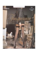Ladies 1 Pair Trasparenze Pennac 20 Denier Back Seam Sheer Stockings Packaging Image