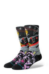Mens 1 Pair Stance Star Wars Warped Pilot Cotton Blend Socks Leading Image