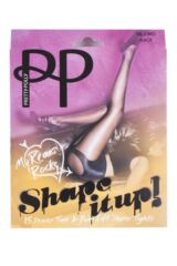 Ladies 1 Pair Pretty Polly My Rear Rocks Tum and Bum Shaper Tights Product Shot
