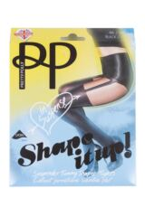 Ladies 1 Pair Pretty Polly Suspend your Disbelief Suspender Shaper Tights Product Shot