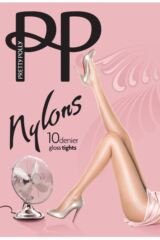 Ladies 1 Pair Pretty Polly Nylons - Tights Packaging Image