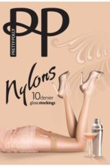 Ladies 1 Pair Pretty Polly Nylons - Stockings Packaging Image