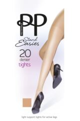 Ladies 1 Pair Pretty Polly Stand Easy Support Tights Packaging Image