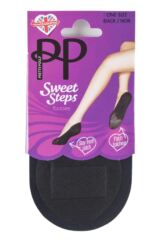 Ladies 1 Pair Pretty Polly Sweet Steps Footsies with Odour Control Packaging Image