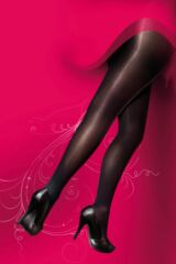 Ladies 1 Pair Pretty Polly Curves 60 Denier Plush Opaque Tights Leading Image