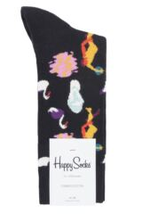 Mens and Ladies 1 Pair Happy Socks In The Park Combed Cotton Socks Packaging Image