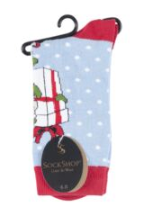 Ladies 1 Pair SockShop Dare To Wear Christmas Socks - Santa's Elf Product Shot