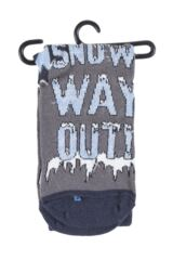 Kids 1 Pair SockShop Dare To Wear Christmas Socks - Snow Way Out Product Shot
