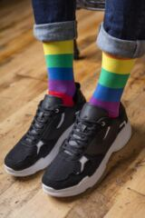 SockShop Bamboo 1 Pair Pride Rainbow Love is Love Socks Leading Image