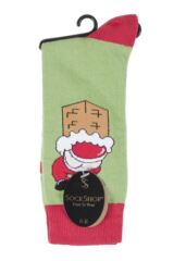 Mens 1 Pair SockShop Christmas Dare to Wear Does My Bum Look Big In This? Novelty Socks Product Shot
