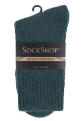 SockShop 1 Pair Natural Home Slipper Socks Packaging Image