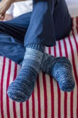 Mens 1 Pair SockShop Lounge Socks Leading Image