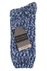 Mens 2 Pair SOCKSHOP Cosy Slipper Socks Packaging Image