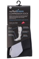 Mens 1 Pair Runderwear Anti-bacterial Compression Socks With Cushioning Product Shot