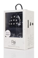 Ladies 1 Pair Rollasole Studded Toe Rollable After Party Shoes to Keep in Your Handbag Packaging Image