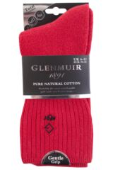 Mens 1 Pair Glenmuir Cushioned Comfort Cuff Golf Socks Packaging Image