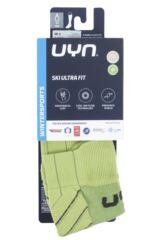Mens and Ladies 1 Pair UYN Ultra Fit Ski Socks Packaging Image