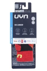 Boys and Girls 1 Pair UYN Junior Ski Socks Packaging Image