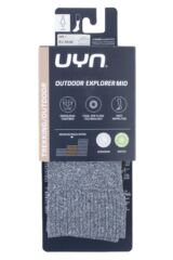 Ladies 1 Pair UYN Outdoor Explorer Mid Length Socks Packaging Image