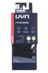 Ladies 1 Pair UYN Cycling Merino Wool Socks Packaging Image