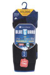 Mens 1 Pair Blueguard Anti-Abrasion Durability Socks Packaging Image