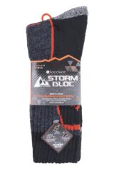 Mens 4 Pair Storm Bloc Technical Boot Socks Packaging Image