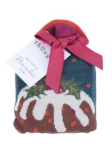 Ladies 1 Pair Thought Figgy Pudding Bamboo and Organic Cotton Socks Gift Bag Packaging Image