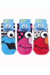 Ladies 3 Pair SOCKSHOP Sesame Street Socks Packaging Image