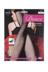 Ladies 1 Pair Silky Dance Professional Fishnet Tights Product Shot