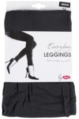 Ladies 1 Pair Silky Plain Everyday Leggings Packaging Image