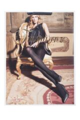 Ladies 1 Pair Trasparenze Socrate Glitter Stripe Tights Packaging Image