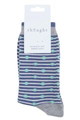 Ladies 1 Pair Thought Ballad Bamboo and Organic Cotton Socks Packaging Image