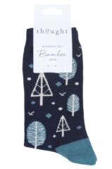 Ladies 1 Pair Thought Erskie Bamboo and Organic Cotton Socks Packaging Image
