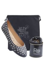 Ladies 1 Pair Rollasole Deluxe Range Rock and Rollasole Studded Shoes Packaging Image