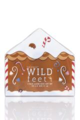 Ladies 3 Pair SOCKSHOP Wild Feet Gift Boxed Elves Cotton Socks Packaging Image