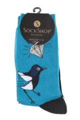 Ladies 3 Pair SockShop Wild Feet Animal Inspired Patterned Socks Product Shot