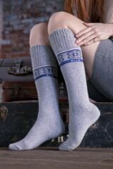 Ladies 1 Pair Elle Wool Blend Winter Knee High Socks Leading Image