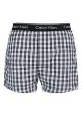 Mens 1 Pair Calvin Klein Jamen Plaid Check Woven Traditional Fit Boxers 25% OFF