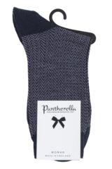 Ladies 1 Pair Pantherella Hatty Herringbone Merino Wool Socks Packaging Image