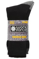 Mens 3 Pair Workforce Work Wear Socks Packaging Image