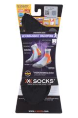 Mens and Ladies 1 Pair X-Socks Mountain Biking Discovery Socks Packaging Image