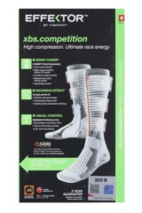 Mens and Ladies 1 Pair X-Socks Effektor Competition Running Socks Packaging Image