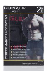 Mens 2 Pair Glenmuir Performance Underwear 6-Inch Leg Packaging Image
