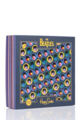 Mens and Ladies 3 Pair Happy Socks The Beatles 2019 Gift Boxed Cotton Socks Packaging Image