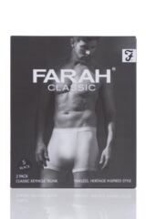 Mens 2 Pack Farah Keyhole Trunks Product Shot