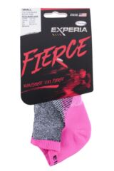 Mens and Ladies 1 Pair Experia By Thorlos Fierce Ultra Light Running Micro Mini Socks Packaging Image