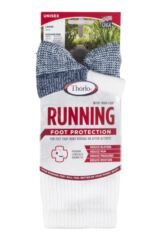 Mens 1 Pair Thorlos Running Crew Socks with Thick Cushion Product Shot