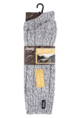 Mens 2 Pair Jeep Terrain Boot Sock Product Shot