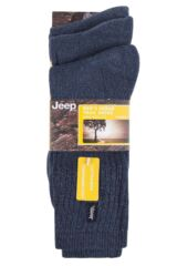 Mens 3 Pair Jeep Urban Trail Cotton Sports Socks Packaging Image