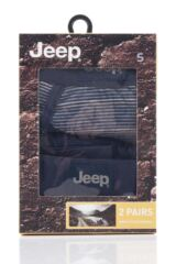 Mens 2 Pack Jeep Micro Stripe and Plain Hipster Trunks Packaging Image